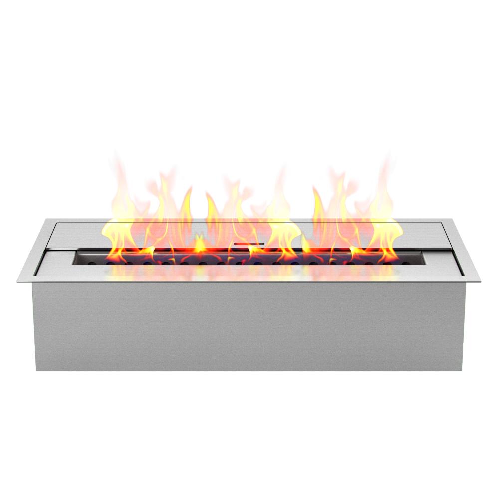 regal flame pro 12 inch bio ethanol fireplace burner insert 1 5 liter
