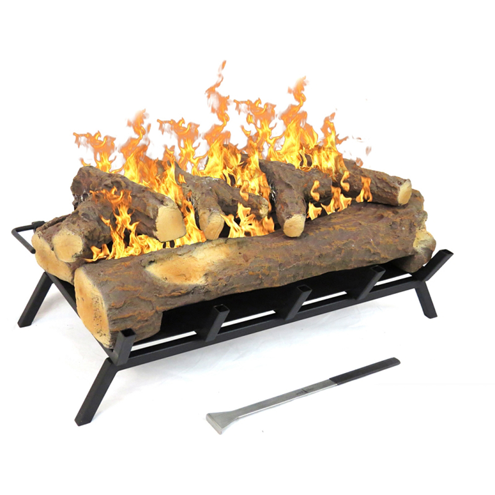 24 Inch Convert to Ethanol Fireplace Log Set with Burner Insert from Gel or Gas Logs-Regal Flame 24 Inch Convert to Ethanol Fireplace Log Set with Burner Insert from Gel or Gas Logs Converting your already existing wood-burning fireplace to an eco-fr