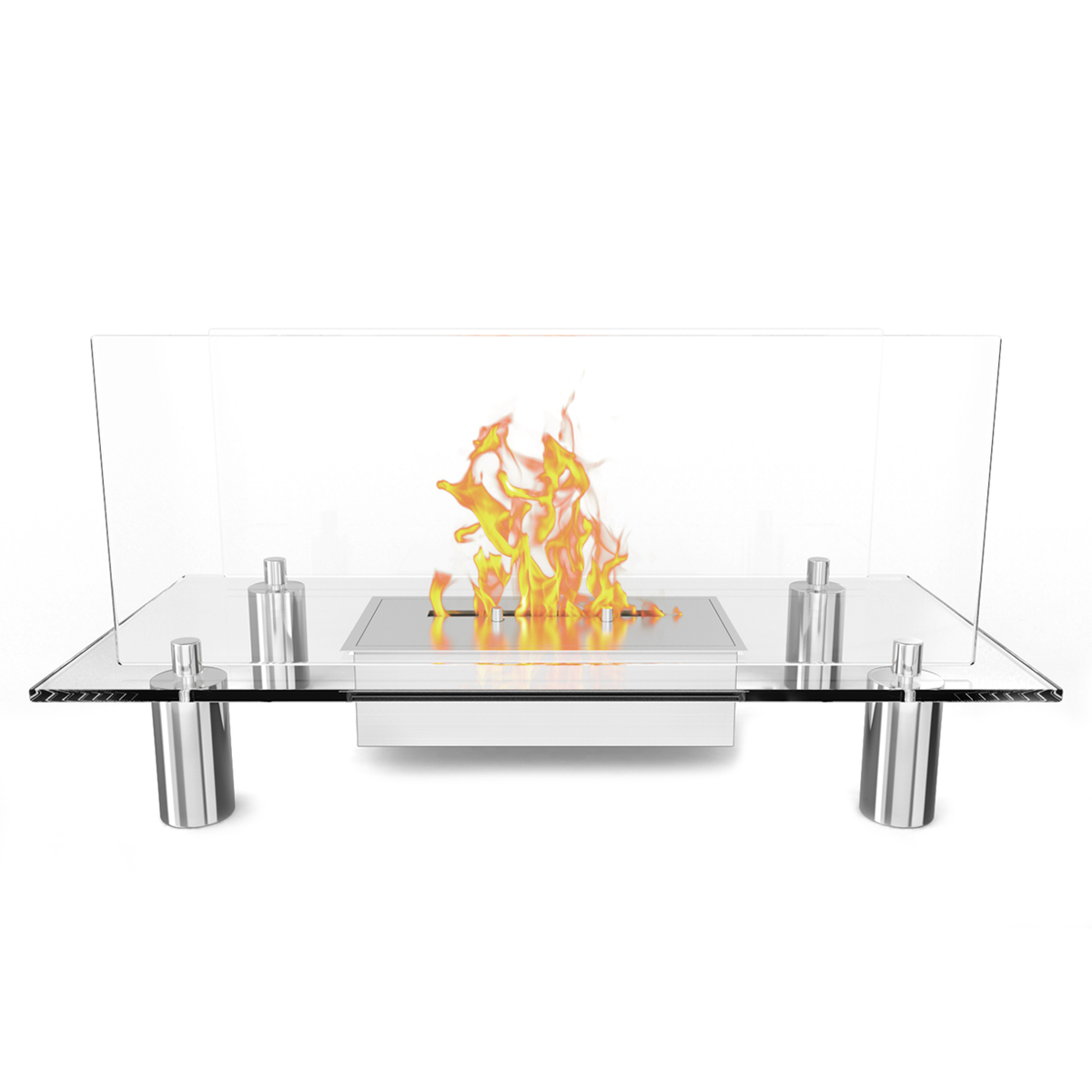 regal flame delano ventless free standing ethanol fireplace