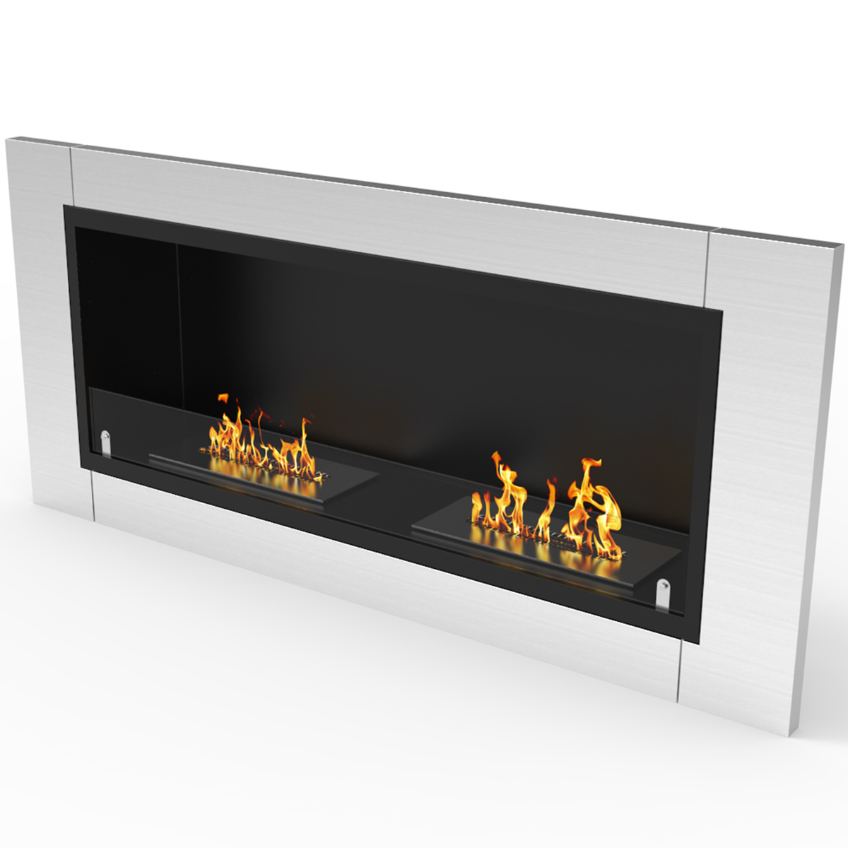 regal flame fargo 43 inch ventless built in recessed bio ethanol