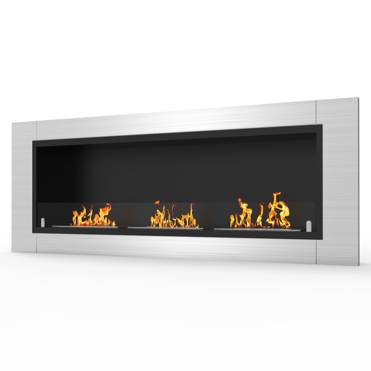 regal flame lenox 54 inch ventless built in recessed bio ethanol