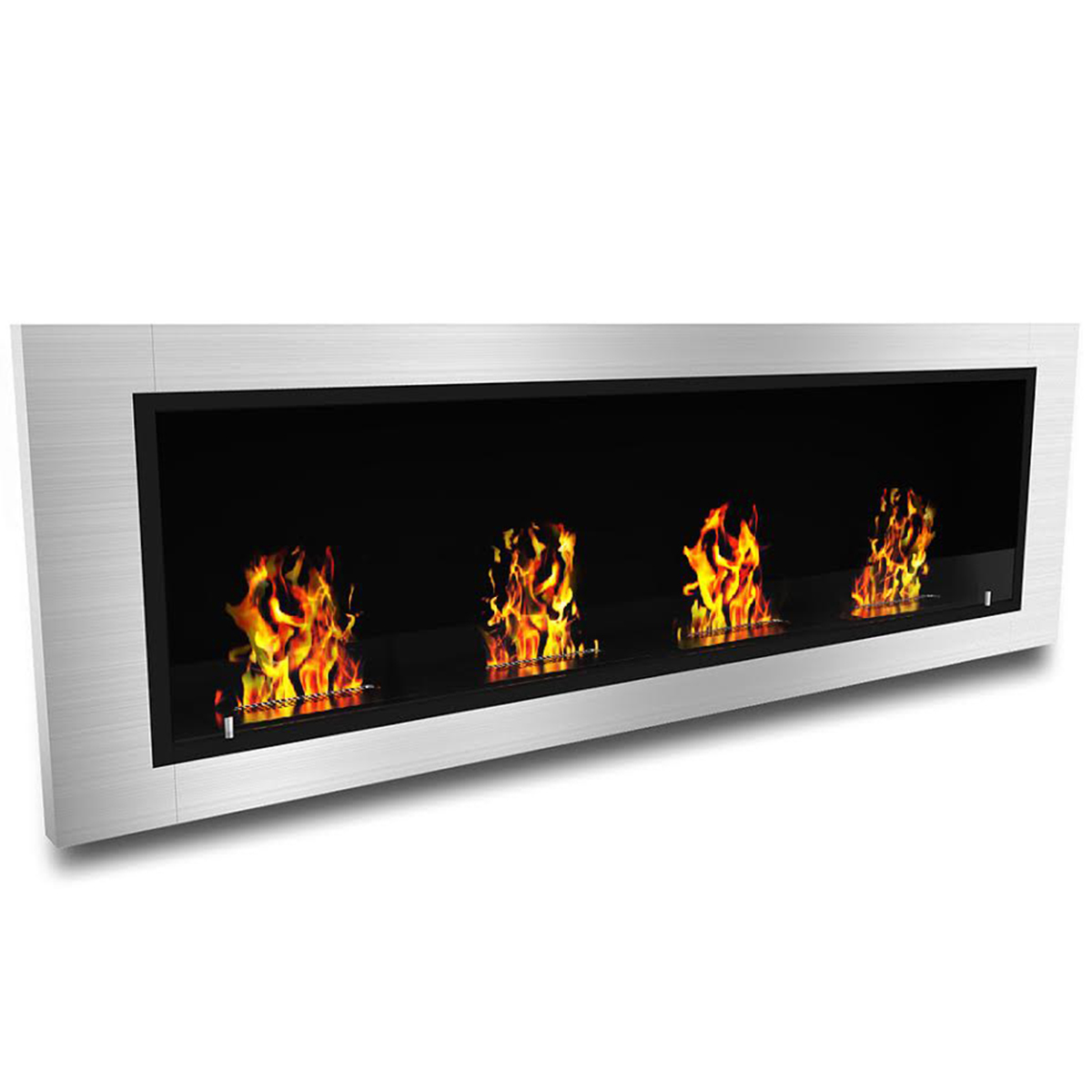regal flame luxe ventless bio ethanol wall mounted fireplace. Black Bedroom Furniture Sets. Home Design Ideas