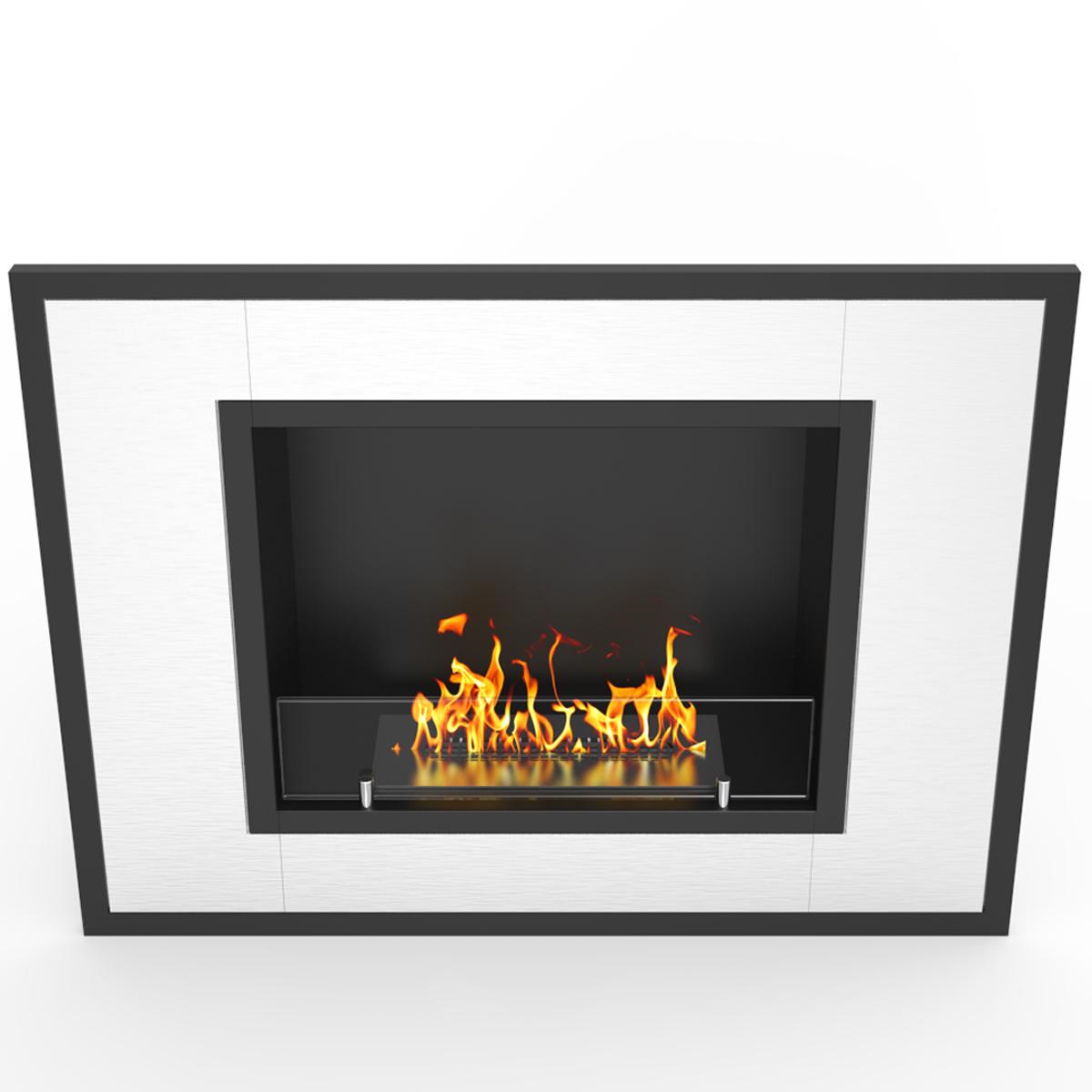 regal flame austin 32 inch ventless built in recessed bio ethanol