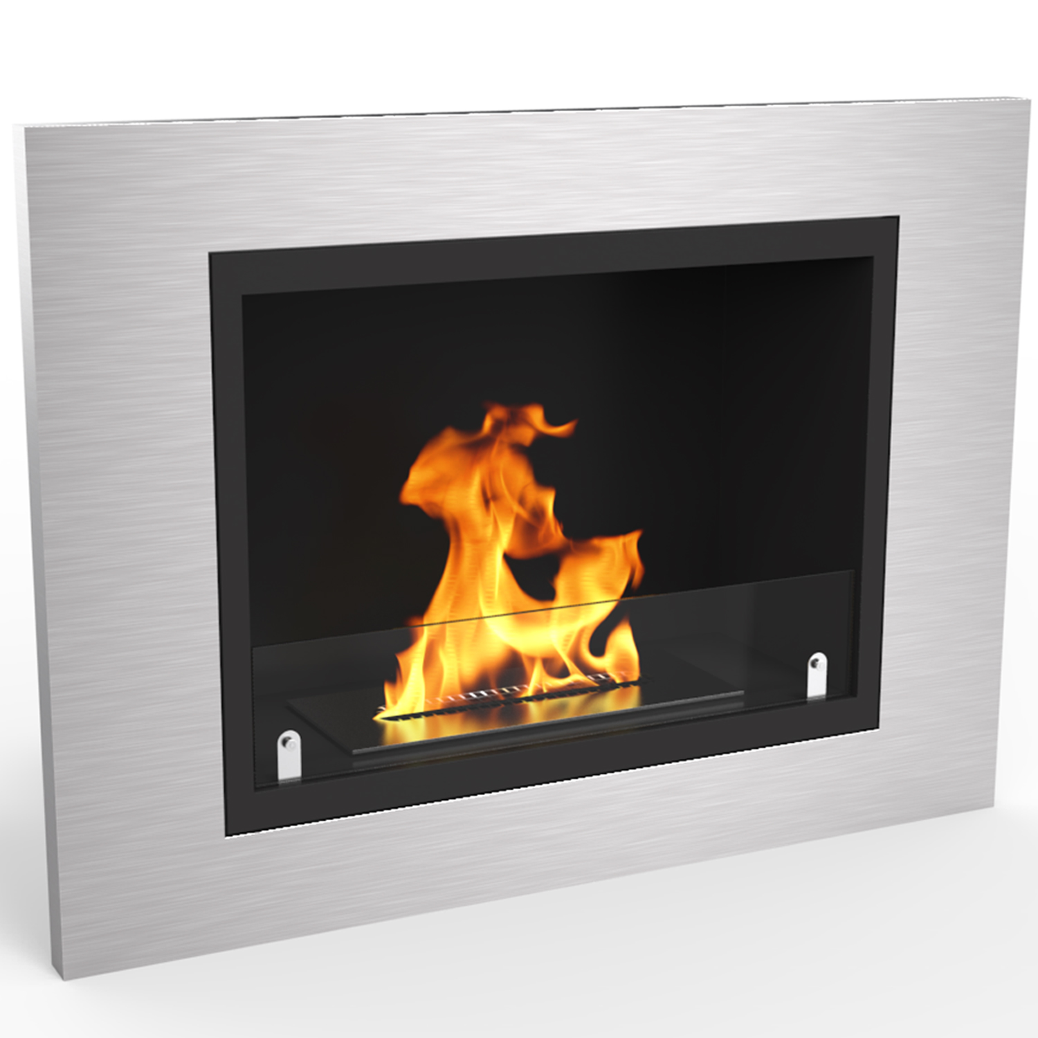 The Venice Wall Mounted Ethanol Fireplace creates a charisma that is completely irresistible to watch. The fascinating dancing flames on a wall from the Venice fireplace create a statement to any room.