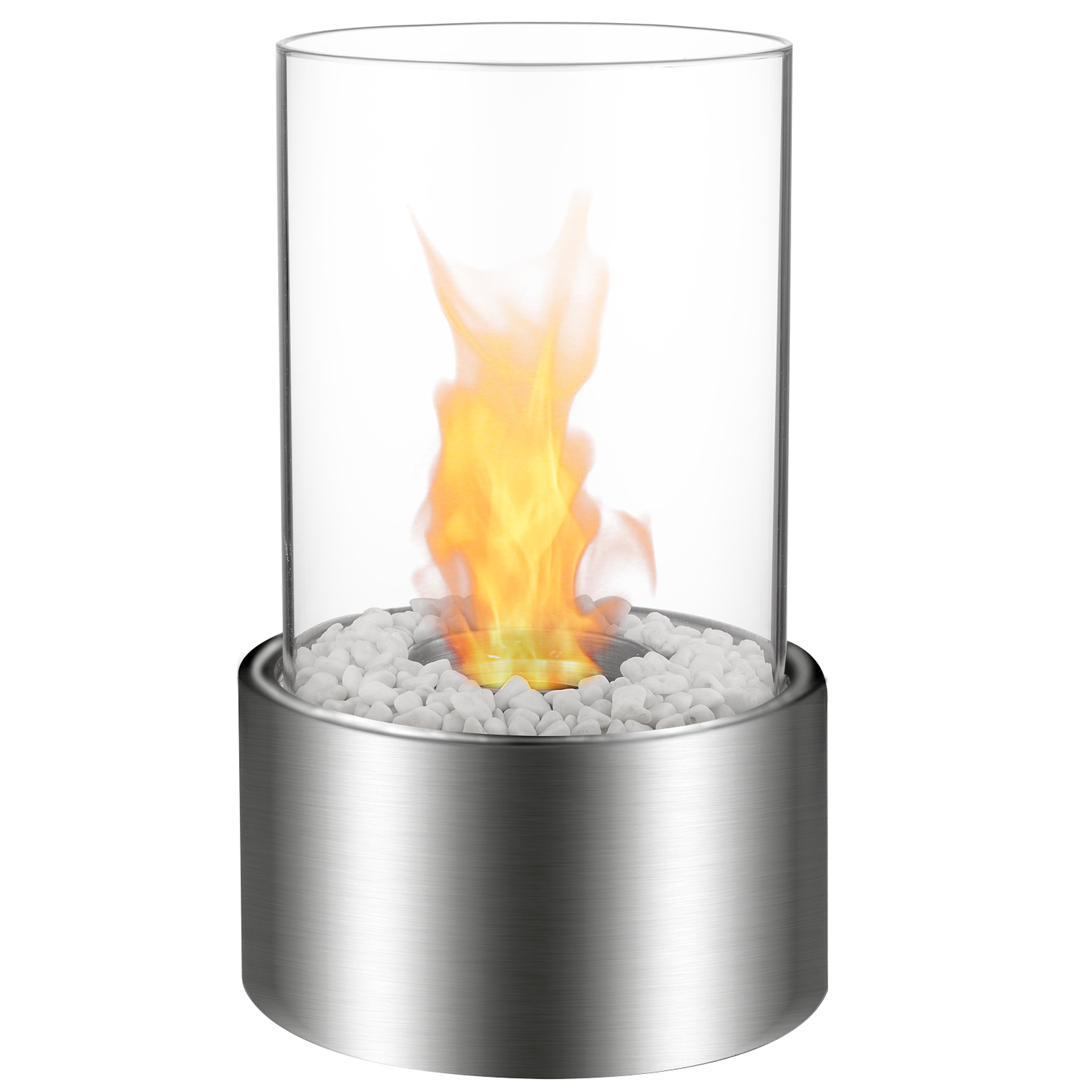 Regal Flame Eden Tabletop Firepit Ethanol Fireplace Stainless Steel