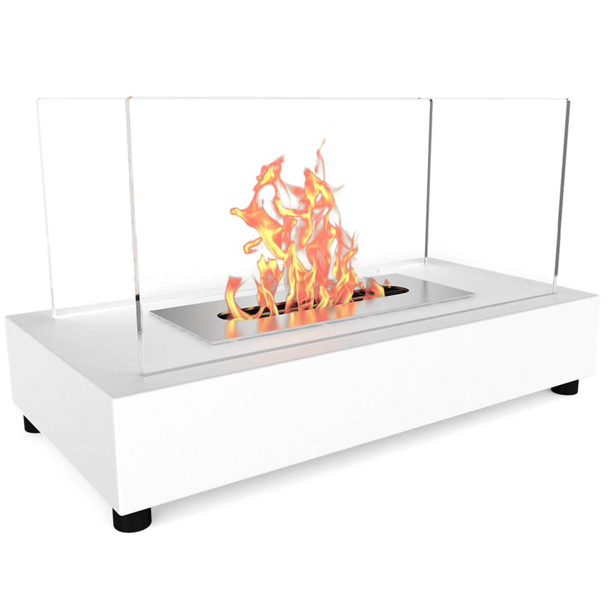 100 indoor tabletop fireplace tea set on coffee table in fr