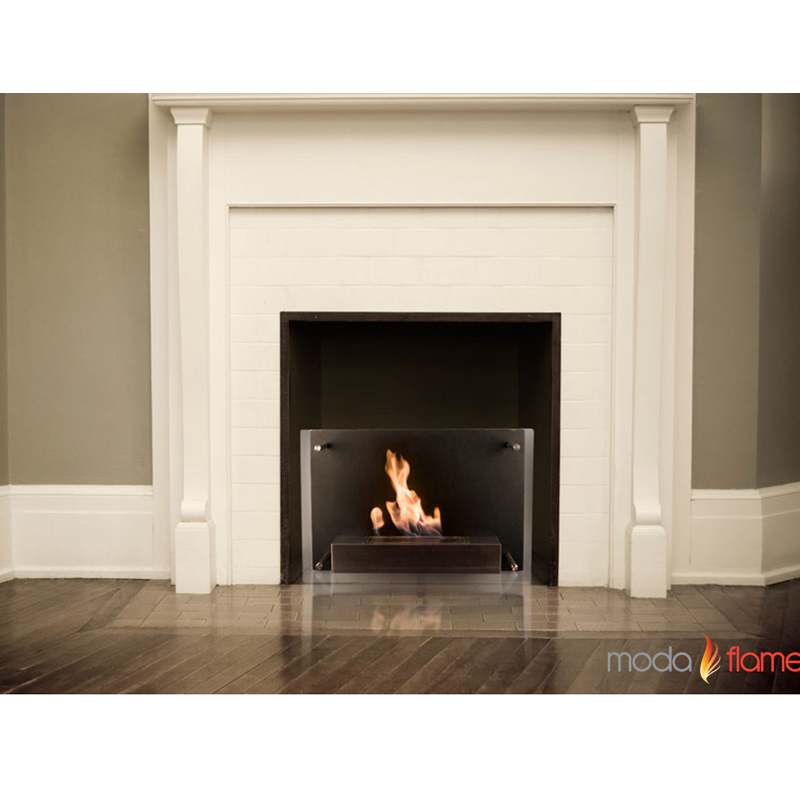 moda flame epila wall mounted ethanol fireplace