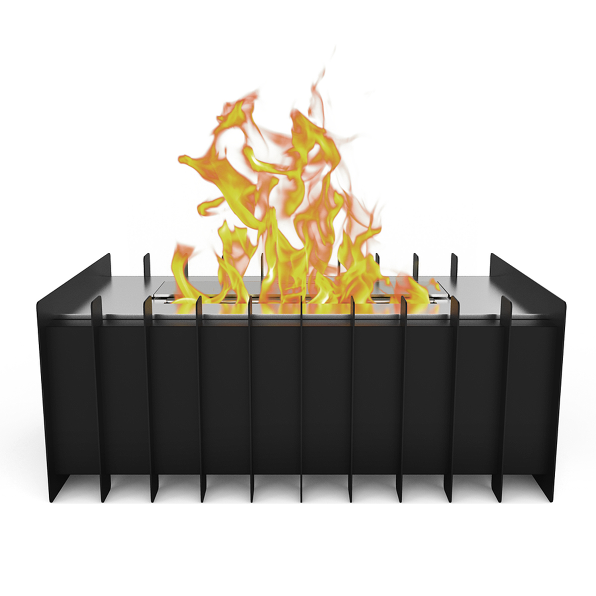 Pro 12 In Ventless Bio Ethanol Fireplace Grate Burner