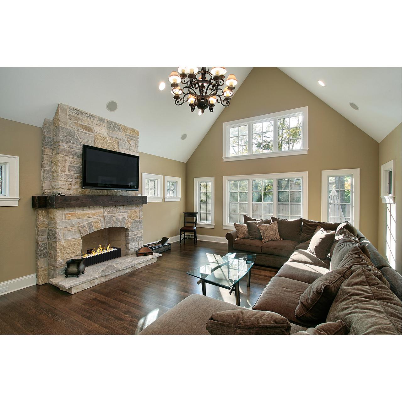 pro 24 in ventless bio ethanol fireplace grate burner insert 4 8 liter. Black Bedroom Furniture Sets. Home Design Ideas