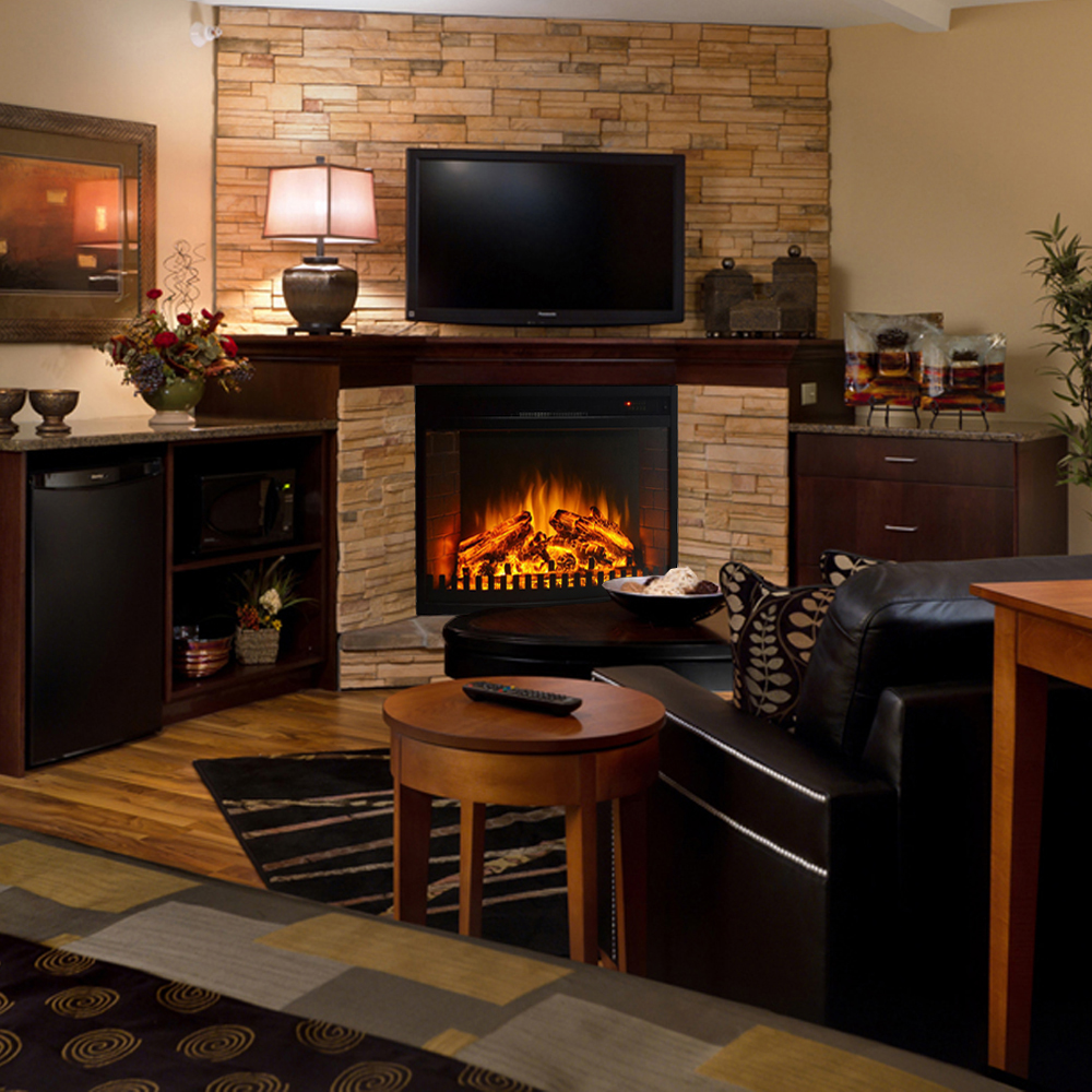 Regal Flame 26 Inch Curved Ventless Heater Electric