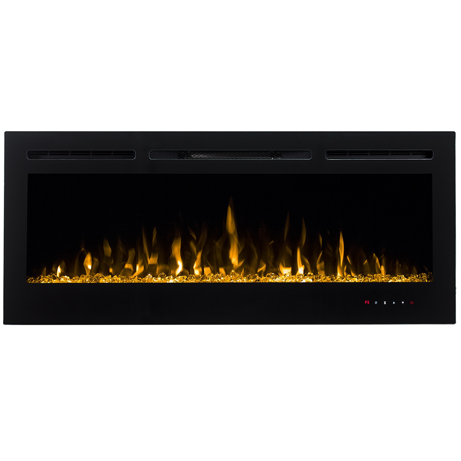 regal flame 36 inch lexington crystal recessed touch screen multi