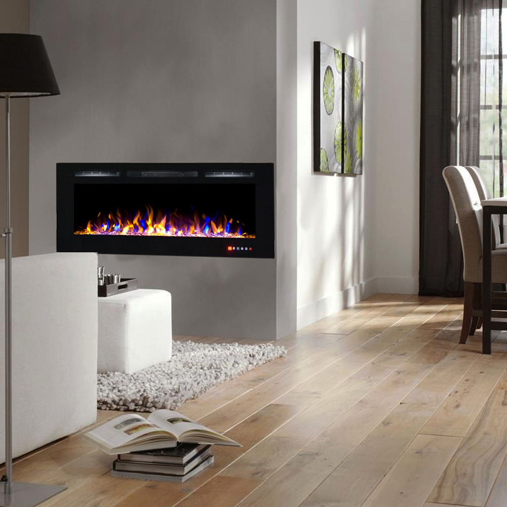 Regal Flame 50 Inch Fusion Crystal Recessed Touch Screen