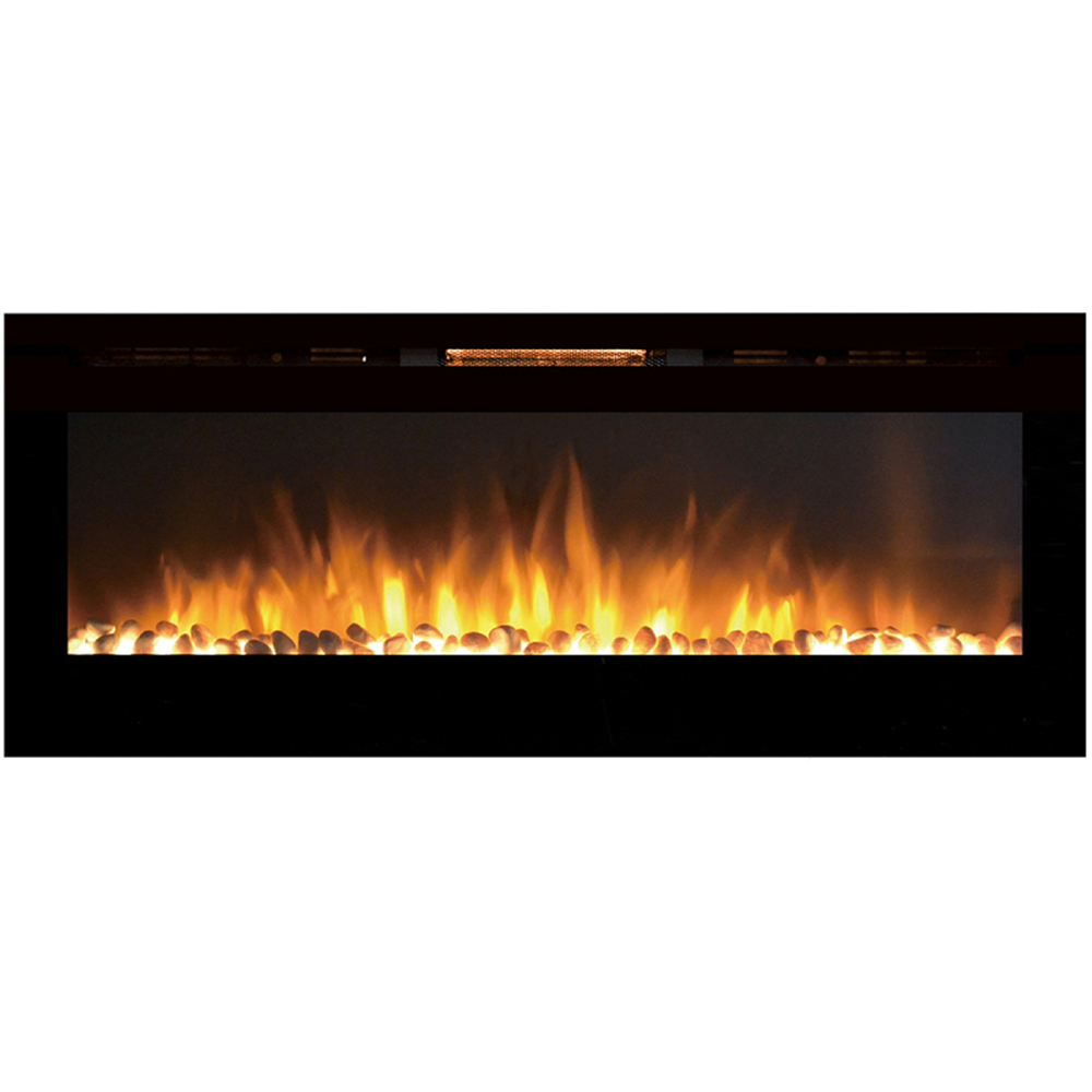 wall mount electric fireplace heater. Regal Flame Astoria 60 Inch Built-in Ventless Heater Recessed Wall Mounted Electric Fireplace - Mount T
