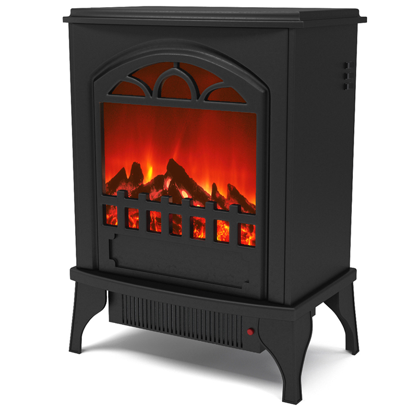 regal flame phoenix electric fireplace free standing portable space heater stove. Black Bedroom Furniture Sets. Home Design Ideas