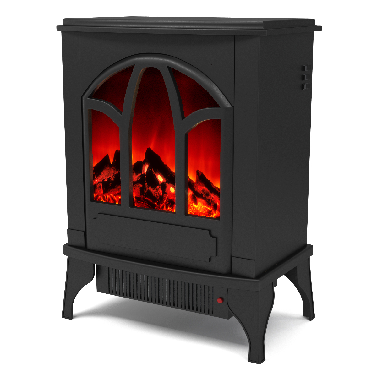 Electric Stove Heater ~ Regal flame juno electric fireplace free standing portable