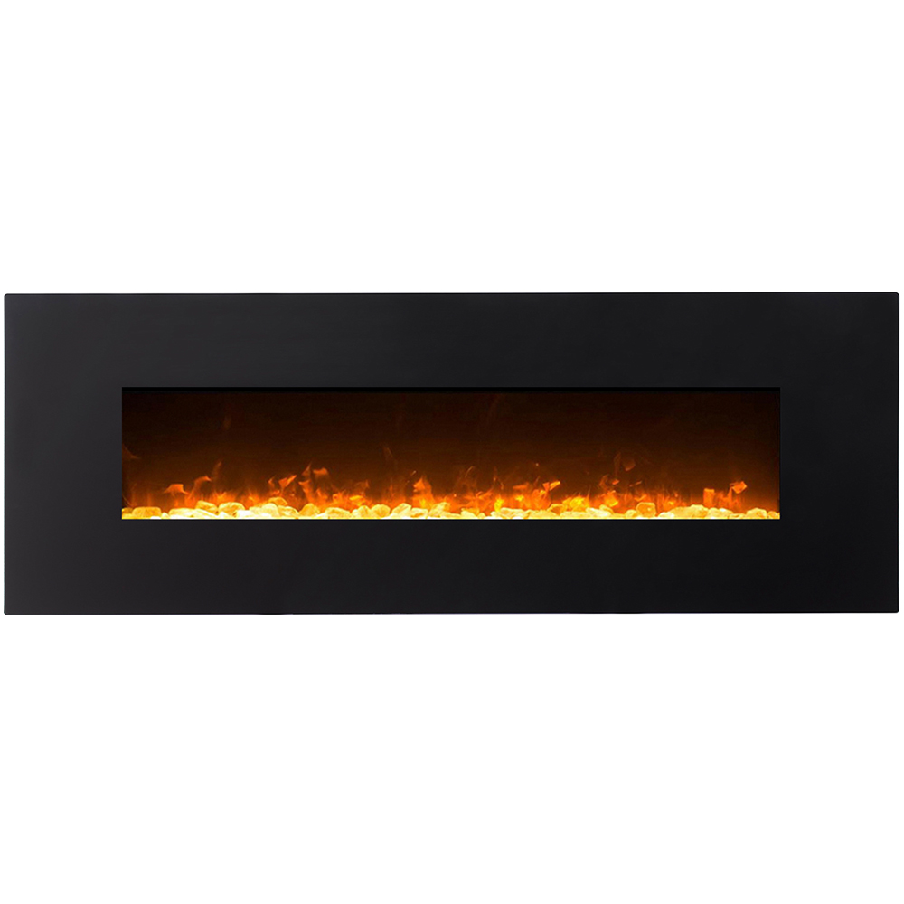 """Regal Flame 72"""" Erie Crystal Linear Fireplace"""