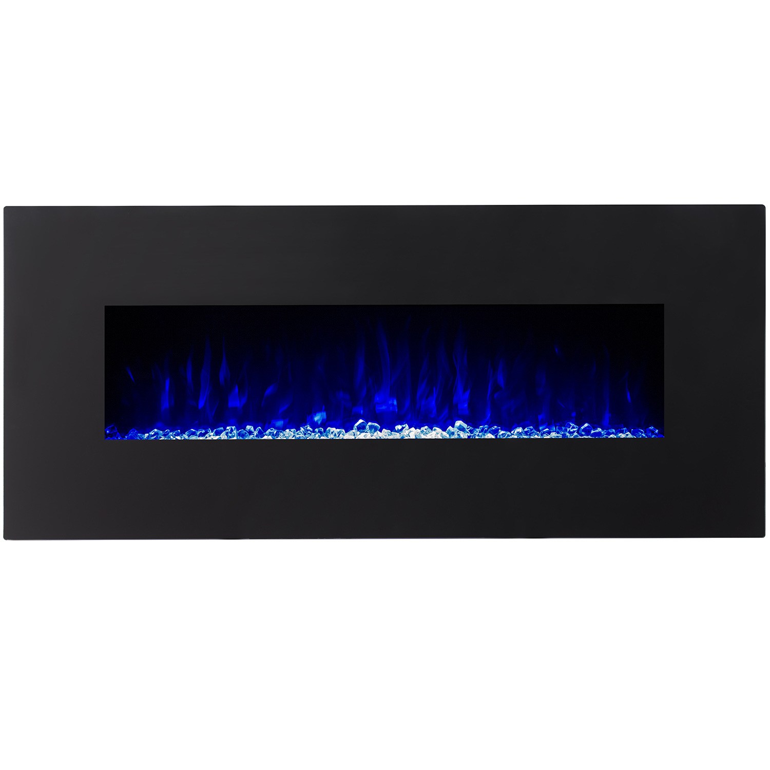 orion 50 inch black ventless heater electric wall mounted