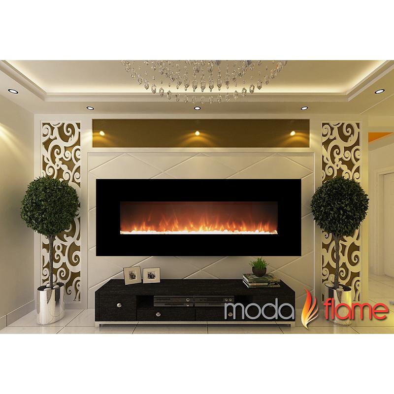 Moda Flame 72 Quot Skyline Crystal Linear Fireplace