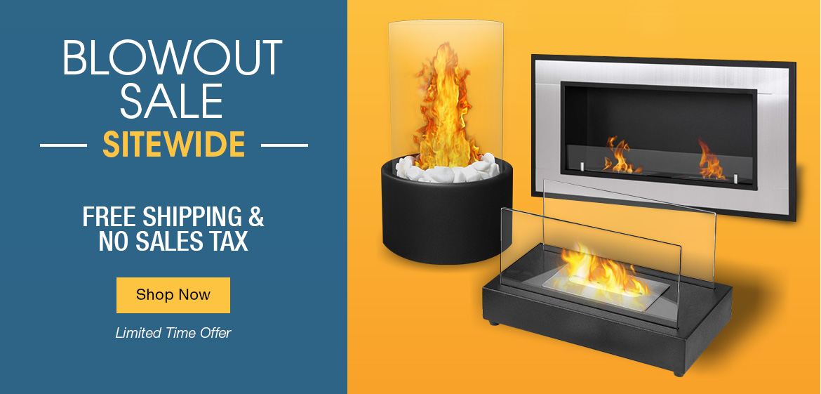 Ethanol Fireplaces - Blowout Sale