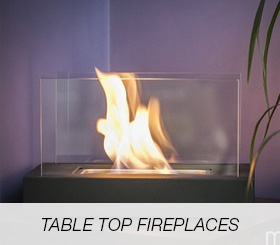 Table Top Fireplaces
