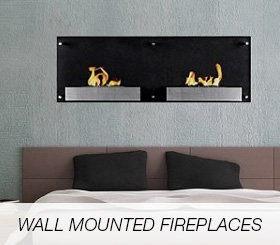 Wall Mounter Fireplaces