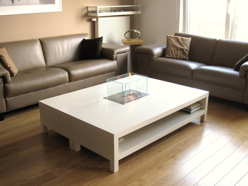 Ethanol Fireplace Coffee Table - Rascalartsnyc