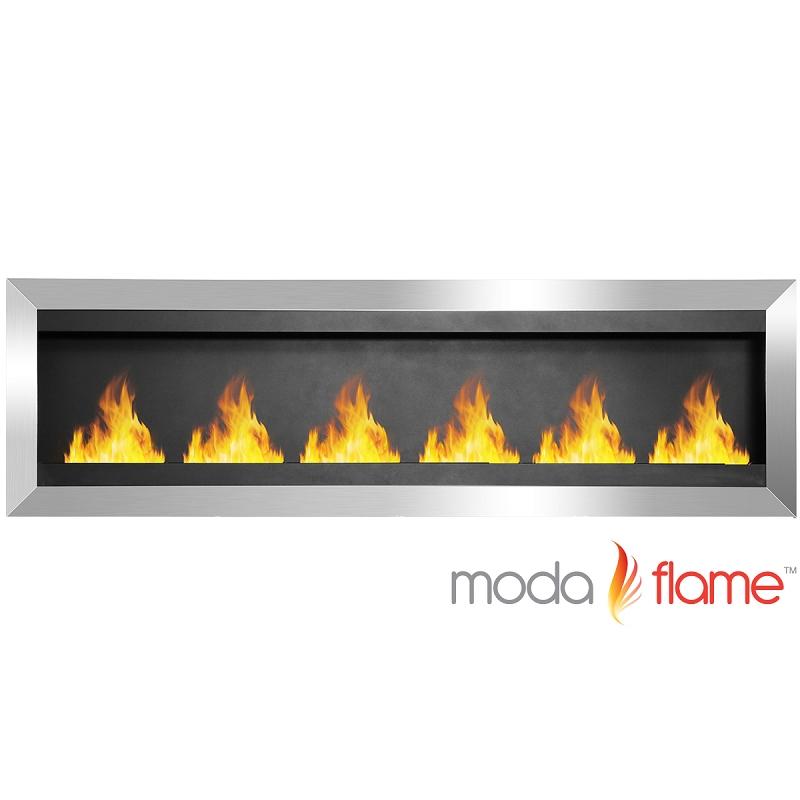 moda verrazano wall mounted ethanol fireplace in