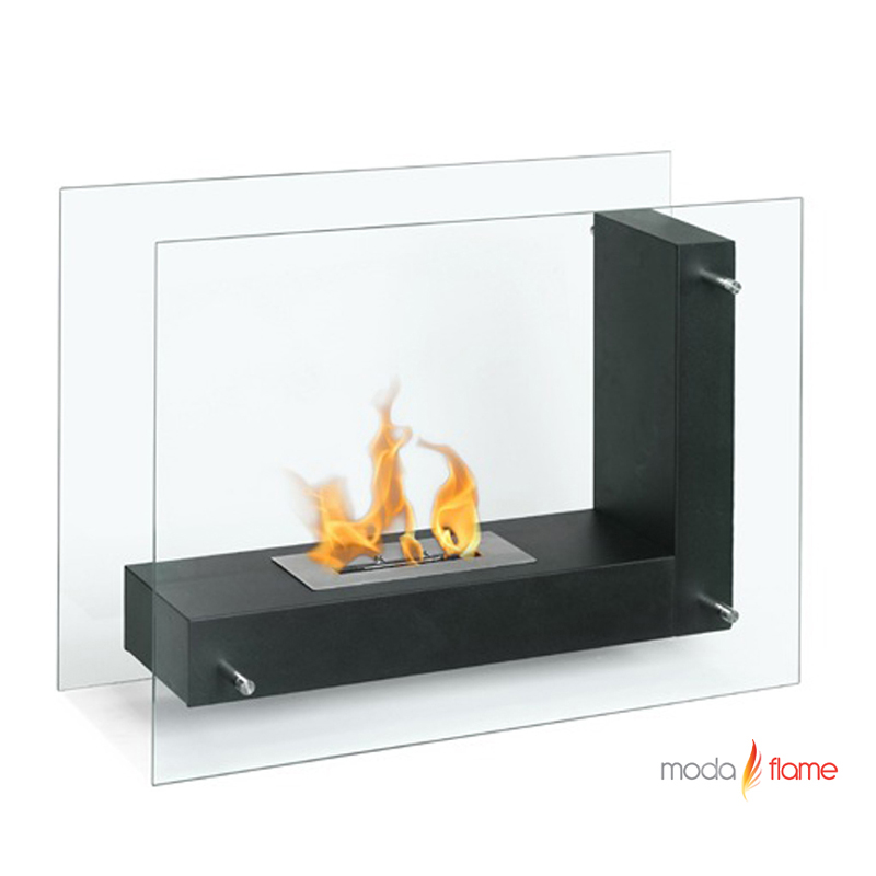 Moda Flame Arta Contemporary Indoor Outdoor L Shaped