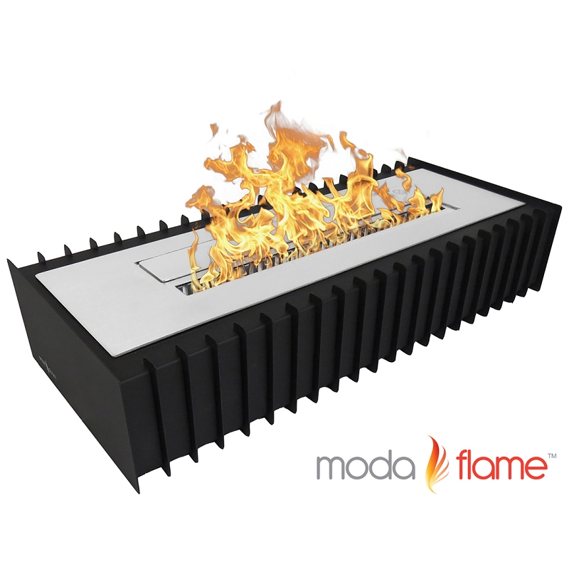 moda flame 24 pro ventless grate burner insert. Black Bedroom Furniture Sets. Home Design Ideas