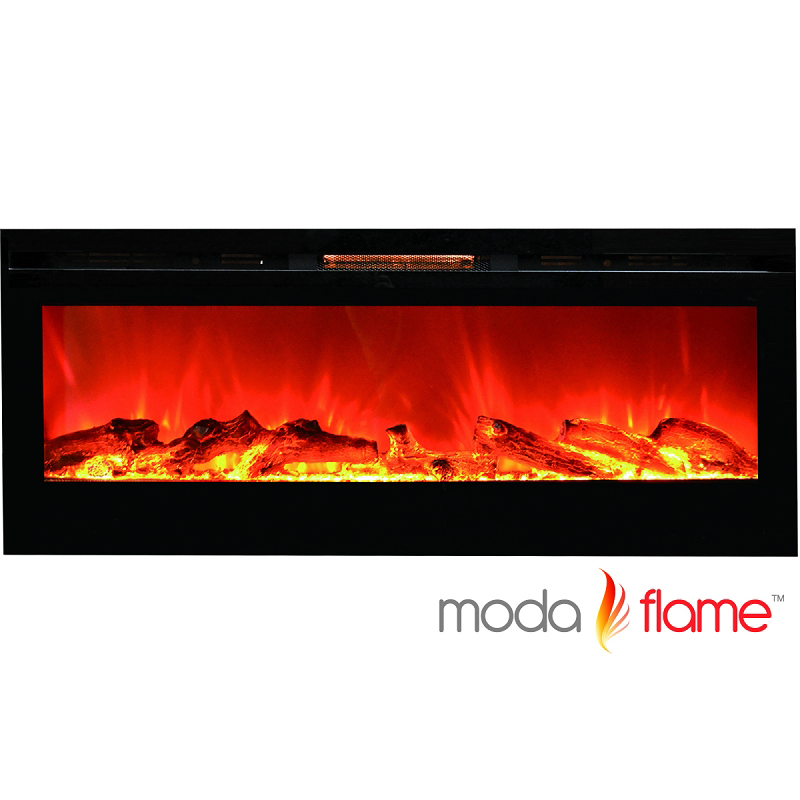 Moda Flame 50 Cynergy Log Wall Mounted Electric Fireplace