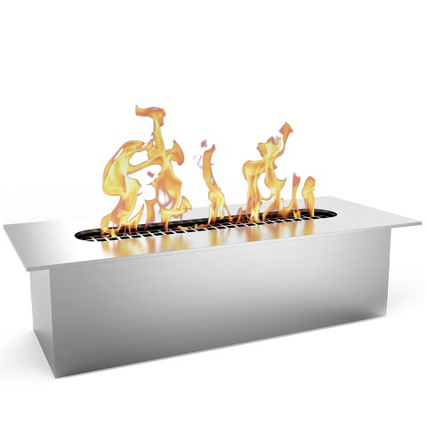Regal Flame SLIM 8 Inch Bio Ethanol Fireplace Burner Insert - .5 Liter