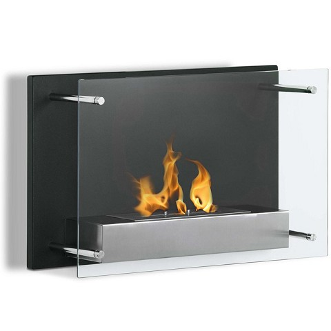 Regal Flame Milan 24 Inch Ventless Wall Mounted Bio Ethanol Fireplace