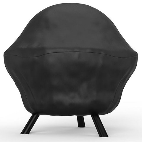 30 Inch Sphere Fire Ball Water Resistant Fire pit Black Cover