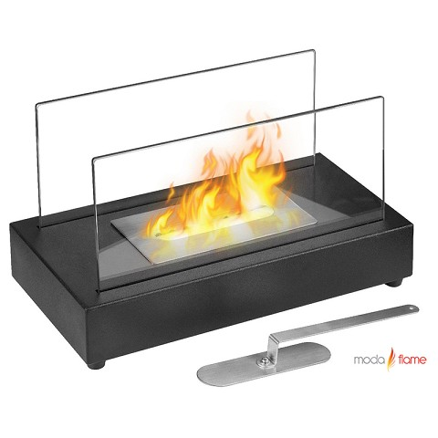 Moda Flame Vigo Table Top Indoor Outdoor Ethanol Fireplace