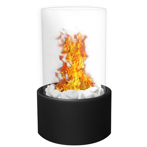 Moda Flame Ghost Tabletop Firepit Ethanol Fireplace Black