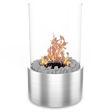 Moda Flame Ghost Tabletop Firepit Ethanol Fireplace Stainless Steel
