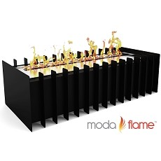 Moda Flame 18 Inch PRO Ventless Bio Ethanol Fireplace Grate Burner Insert