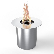 PRO Circular Convert Gel Fuel Cans to Ethanol Cup Burner Insert