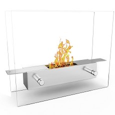 Regal Flame Lyon Indoor Outdoor Tabletop Portable Bio Ethanol Fireplace
