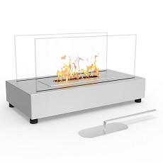 Regal Flame Avon Table Top Indoor Outdoor Ethanol Fireplace Stainless Steel