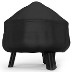 26 Inch Mason Water Resistant Fire Pit Black Cover