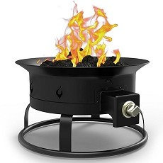 Regal Flame Camp Mate 58,000 BTU Portable Propane Outdoor Fire Pit