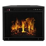 Regal Flame 23 Inch Flat Ventless Heater Electric Fireplace Insert