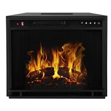 Regal Flame 33 Inch Flat Ventless Heater Electric Fireplace Insert