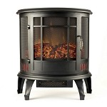 Regal Flame 22 Inch Heater Ventless Curved Electric Fireplace Stove