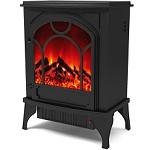 Moda Flame Everly Electric Fireplace Stove Insert with Heater